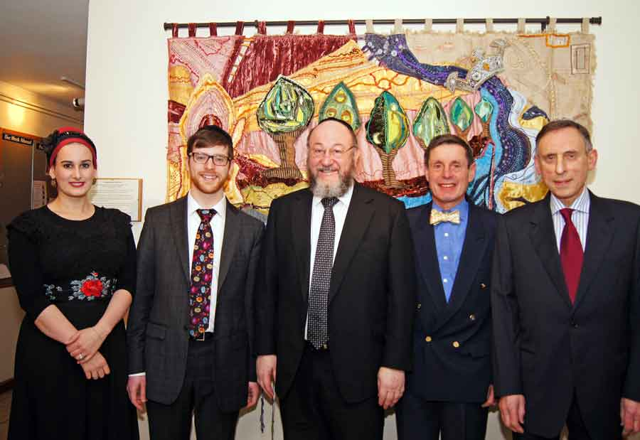 Chief Rabbi visits Kingston Synagogue