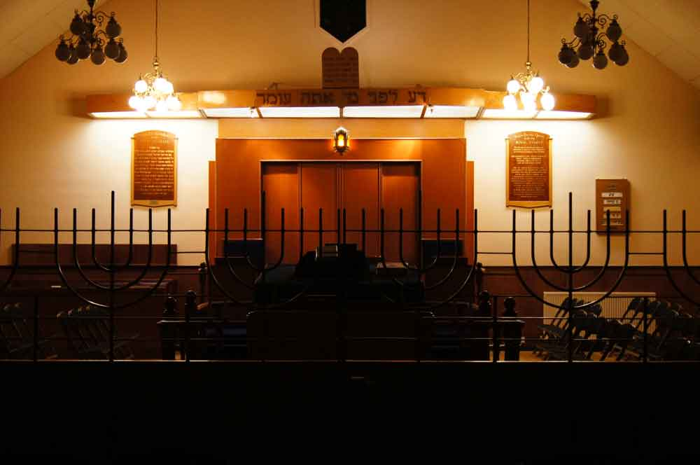 Kingston Synagogue interior